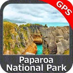 Paparoa NP GPS chart navigator