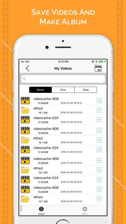 Video Saver - Video Cache screenshot-3