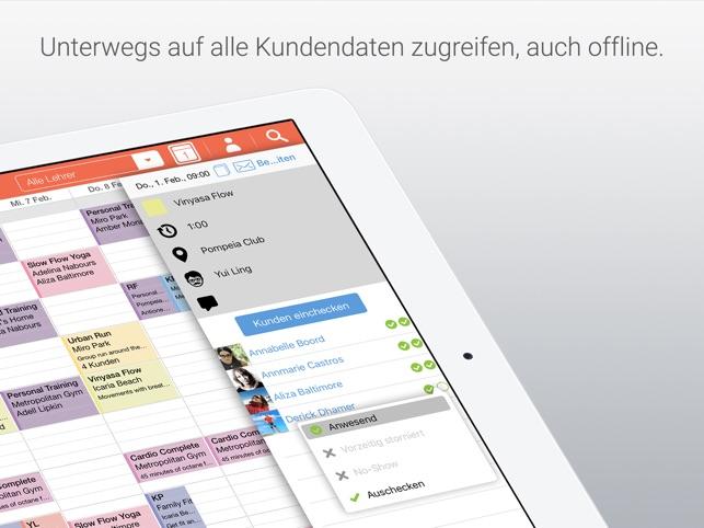 Bobclass Terminkalender Screenshot
