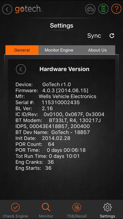 GoTech™ Mobile OBDII Diagnostics Tool screenshot-4