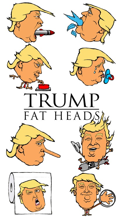Trump Fat Heads
