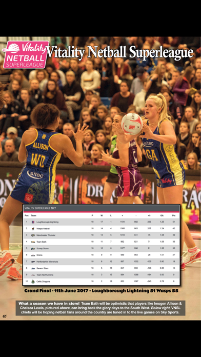 Netball Universe screenshot 4