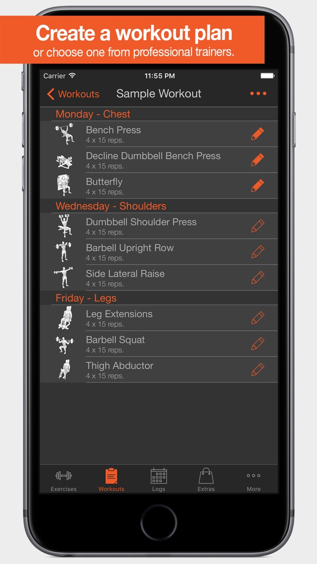 Fitness Point Pro Screenshot