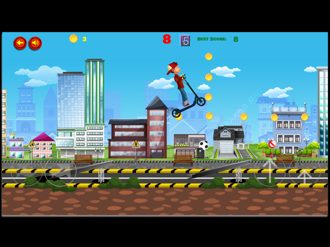 ‎Kids Scooter Screenshot
