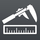 尺子工厂 - 直尺,游标卡尺,您的移动工具 icon