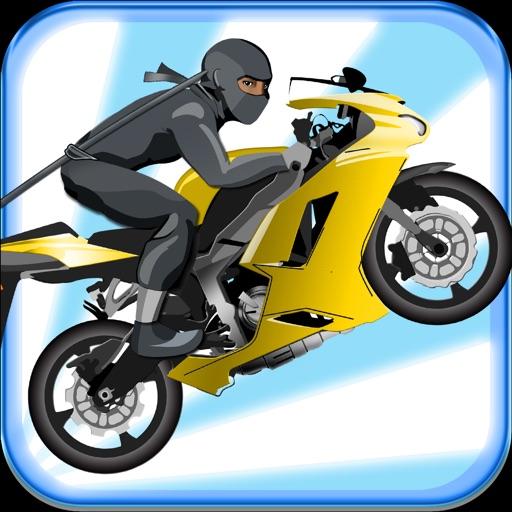Ninja Bike Surfers