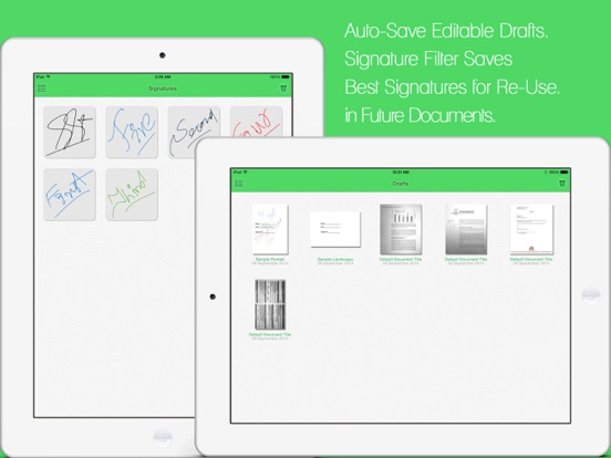 JustSign - PDFs and Documents Screenshots