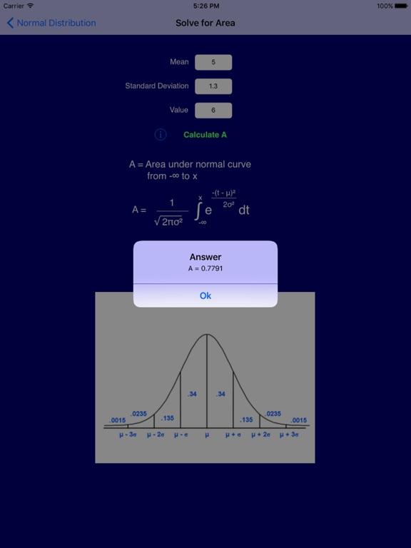 Statistics Pro Screenshots
