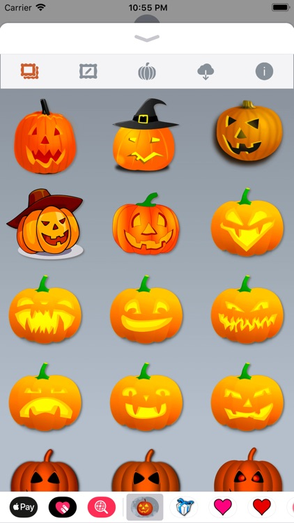 Happy Halloween • 140 stickers screenshot-3