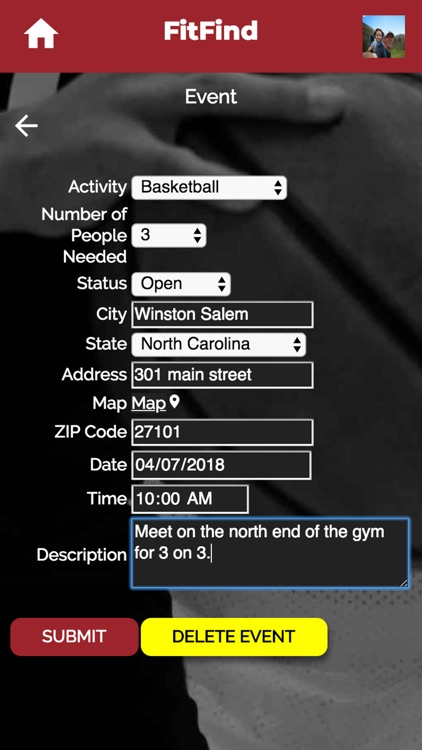 FitFind Social Fitness App
