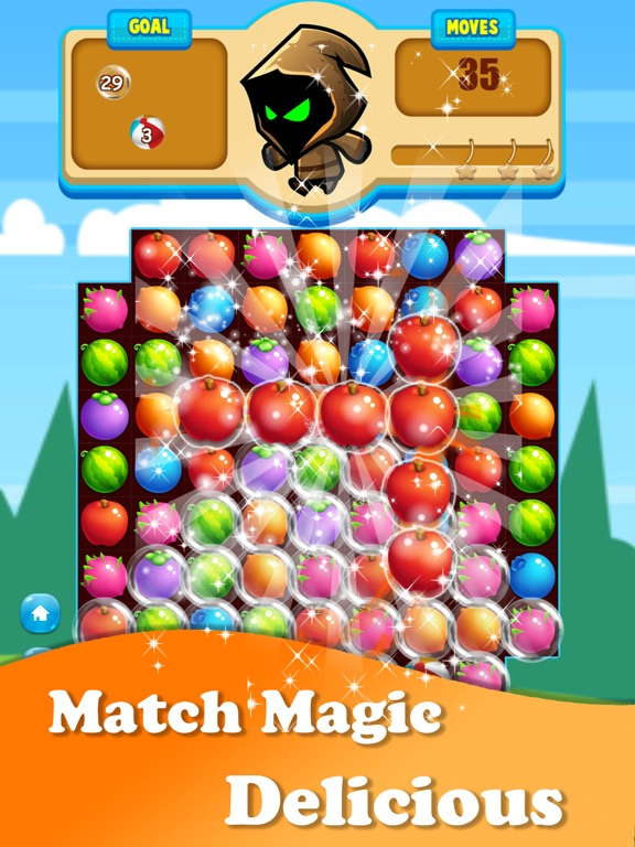 Magic Fruit : Match Land Mania