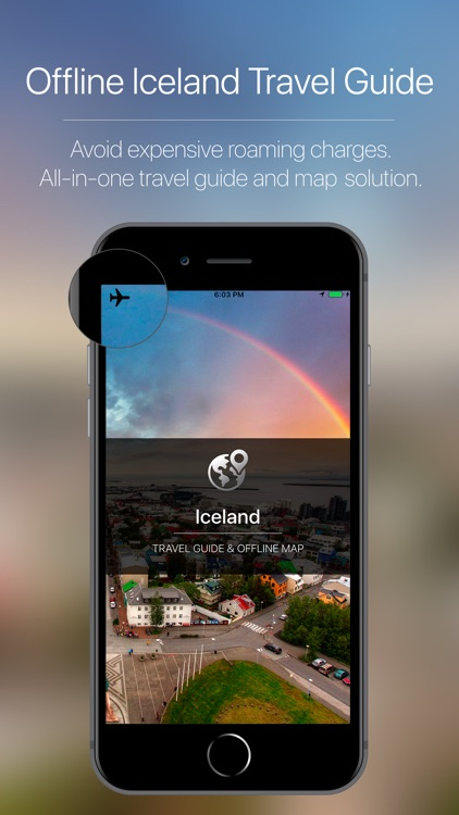Iceland Offline Travel Map screenshot-0