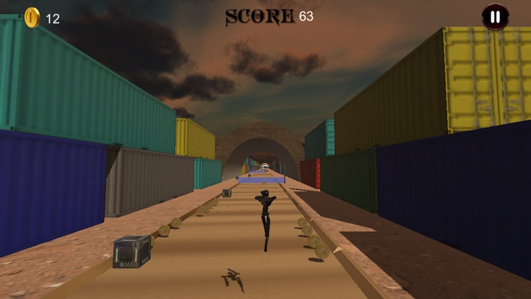 Real Robot Wild Runner screenshot-3