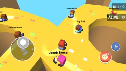 Bumper Kart.io: Crash and Bomb Screenshot on iOS