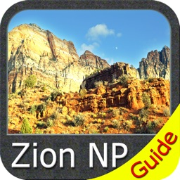Zion National Park - GPS Map Navigator
