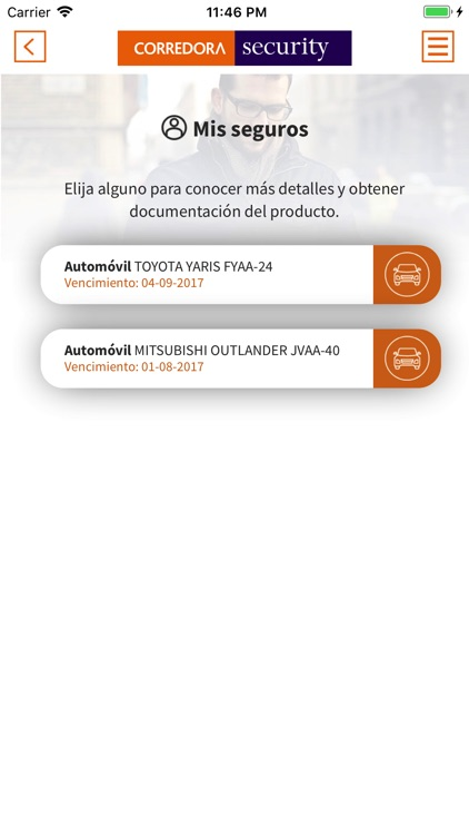 Corredora Security screenshot-3