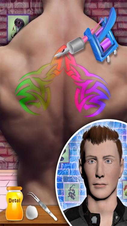 Tattoo Design Artist 3D Pro screenshot-3