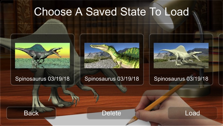 Spinosaurus Mannequin screenshot-9