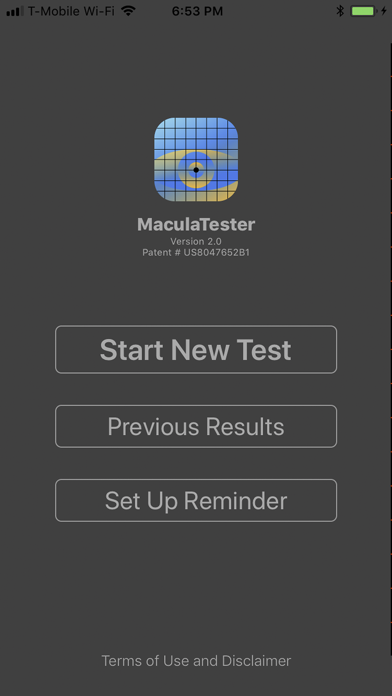 Maculatester review screenshots
