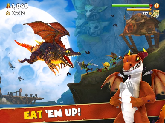 Hungry Dragon ™ screenshot 7
