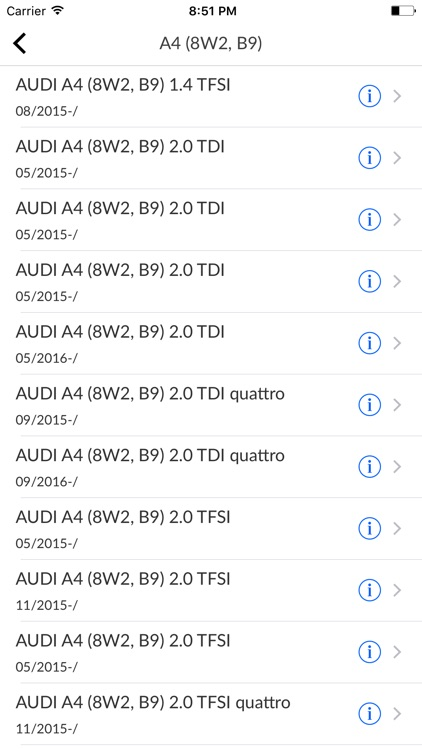 Car Parts for Audi with diagrams screenshot-3