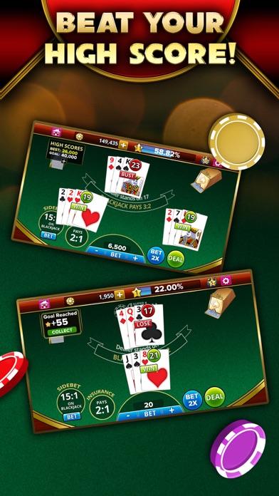 Blackjack 21 - Platinum Player screenshot 5