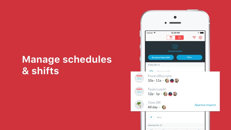 Crew Messaging and Scheduling