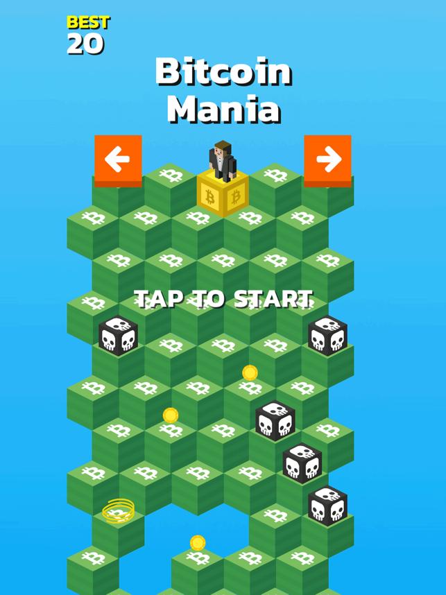 Bitcoin Mania, game for IOS