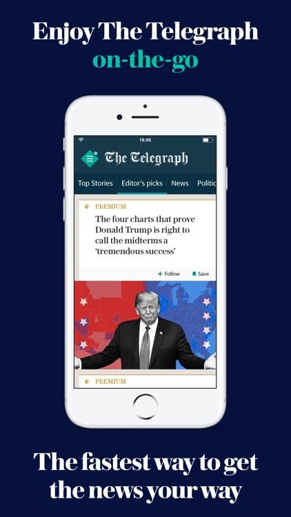 The Telegraph: UK News App screenshot-0