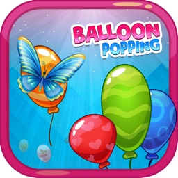 Balloon Butterfly Popping