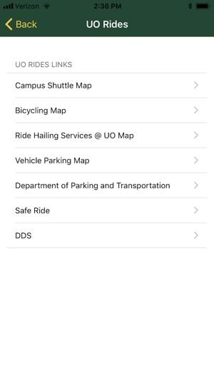 UOregon on the App Store