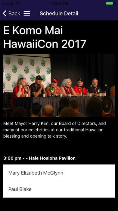 HawaiiCon Screenshot