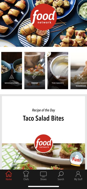 Food network in the kitchen on the app store screenshots forumfinder Gallery