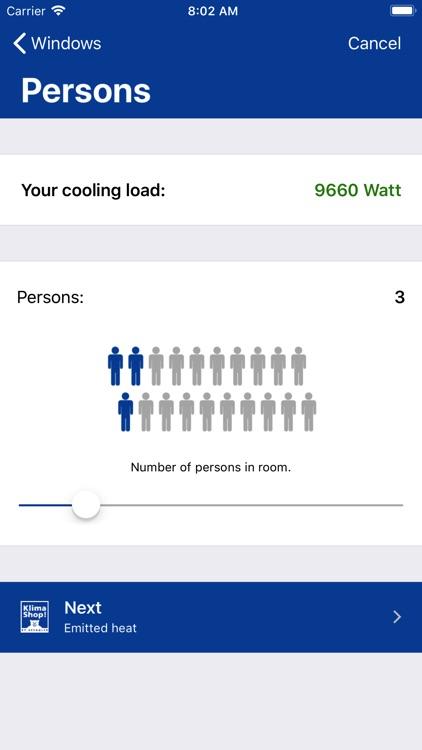 KlimaKonfigurator! screenshot-3