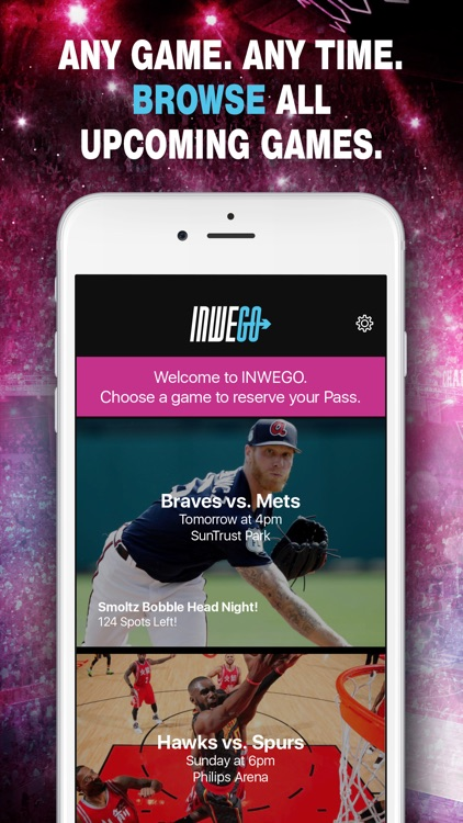 INWEGO- Unlimited Live Event Subscription