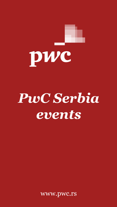 PwC Serbia Events screenshot 1