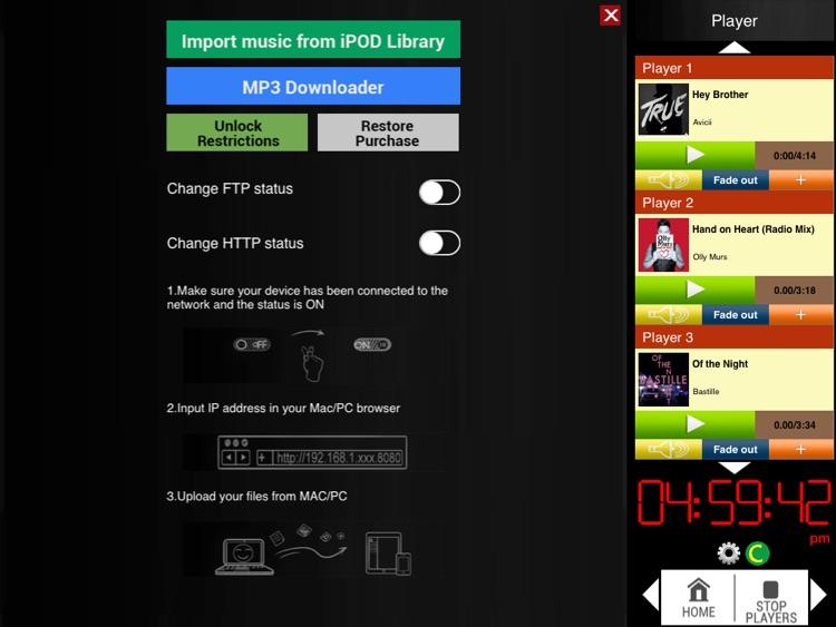 Audio Cartwall Studio for iPad screenshot-3