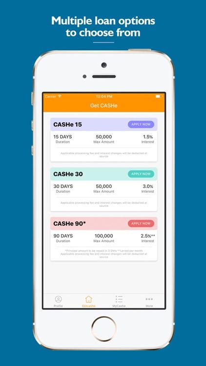 CASHe - Instant Loans screenshot-3