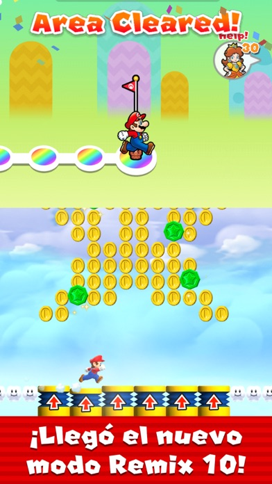 Screenshot for Super Mario Run in Ecuador App Store