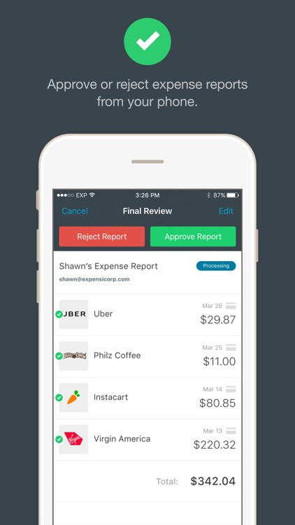 Expensify - Expense Reports & Receipt Tracking screenshot-3