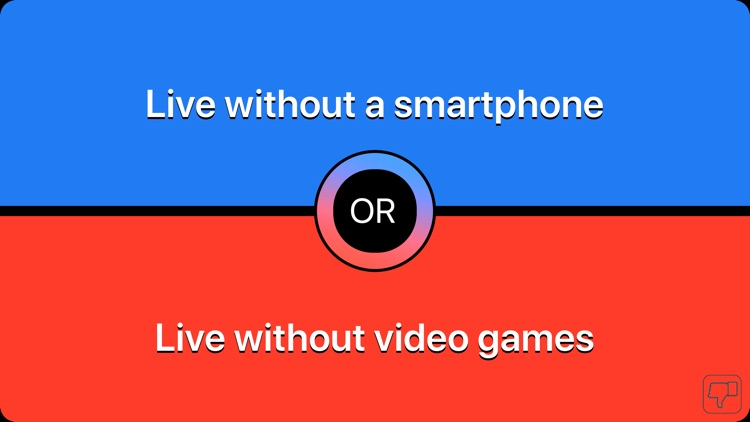 Conundrums- would you rather ?