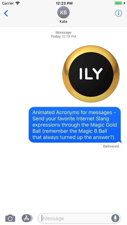 Magic Ball 1 Acronyms