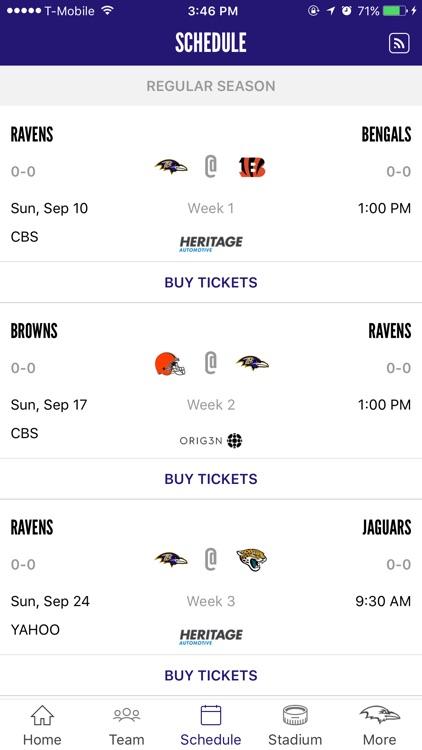 Baltimore Ravens Mobile screenshot-3