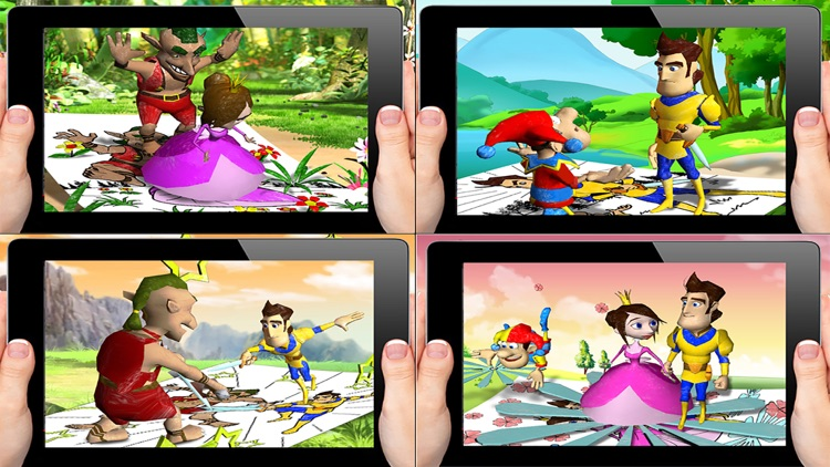 3D Coloring Pages- Kids AR Fun screenshot-4