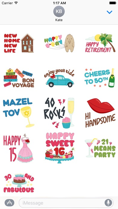 download Colorful Greetings Sticker apps 1