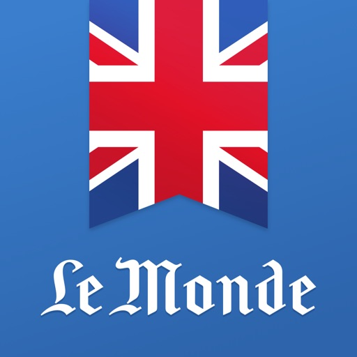 Learn English with Le Monde application logo