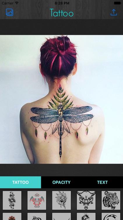 Tattoo Maker-Photo Designer and artist tattoos