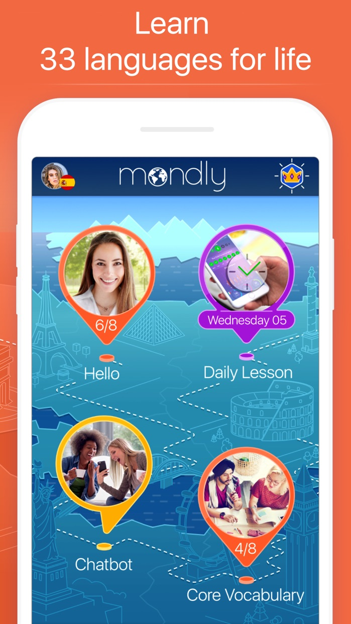 Mondly: Learn 33 Languages Screenshot