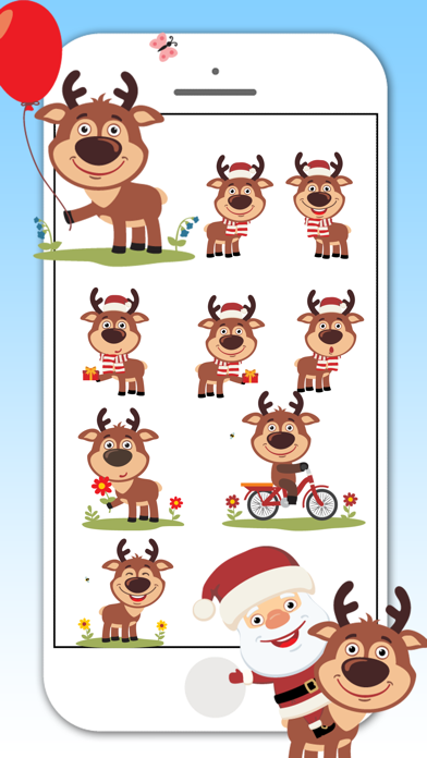 Deer Emojis & Stickers screenshot three