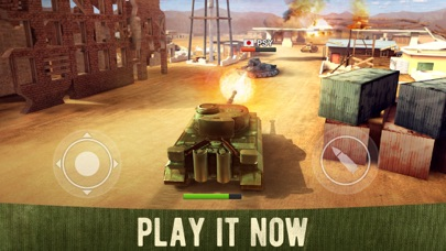 War Machines: 3D Tank Games Screenshot